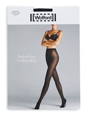 924536a707a Product image. QUICK VIEW. Wolford. Super Fine Ribbed Sheer Tights