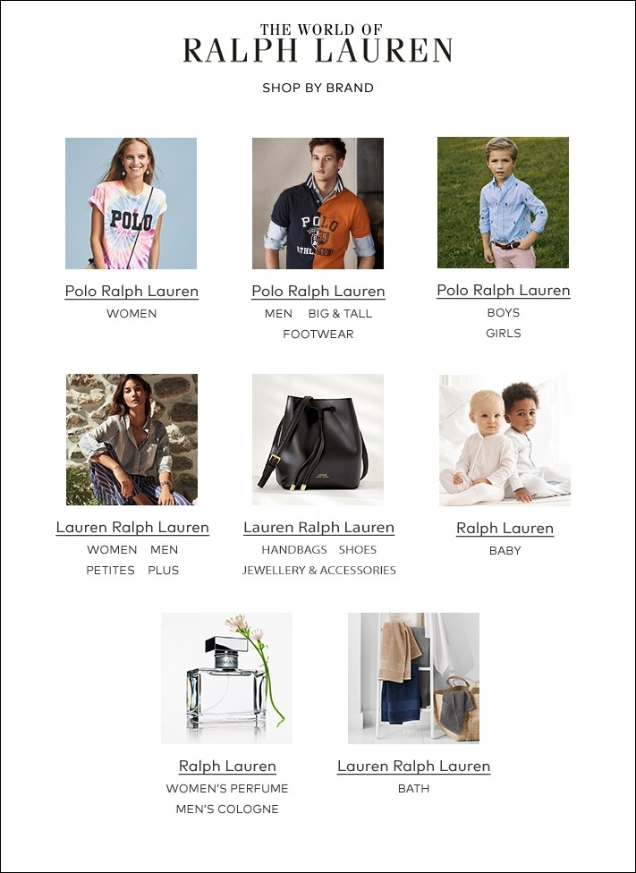 4750bcc3e3 Lauren Ralph Lauren offers a range of polished accessories