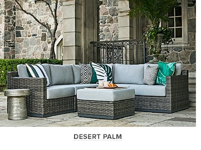 desert palm collection seating with grey wicker base at thebay com