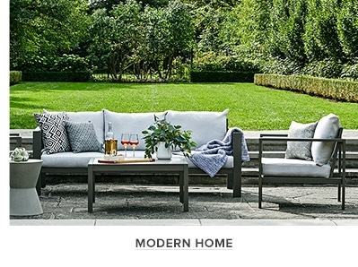 0a13d6b356aa Modern Home Collection with outdoor throw pillows at thebay.com.