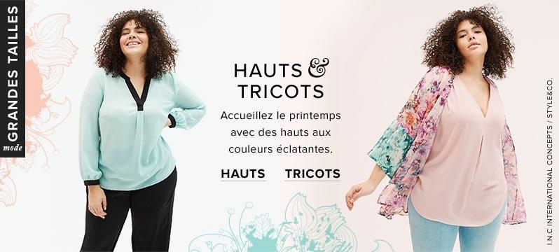 0c5d23eab68 Hauts INC International Concepts et Style co. grandes tailles à labaie.com