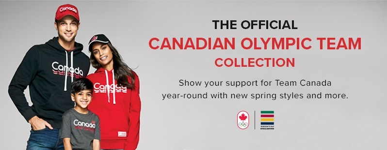141314ee5ac Official Canadian Olympic Team Collection featuring Team Canada hoodies