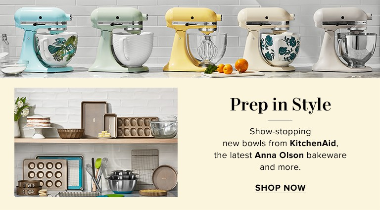 ... THE DESIGNER EDIT New Spring Jackets. Shop KitchenAid and Anna Olson  Kitchen bakeware e8ee875c4504e