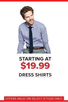 838d38b1749 ... Save more on men s dress shirts ...