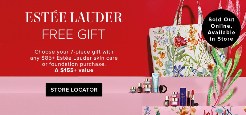 bdc518206b25 Free gift with your Estee Lauder purchase