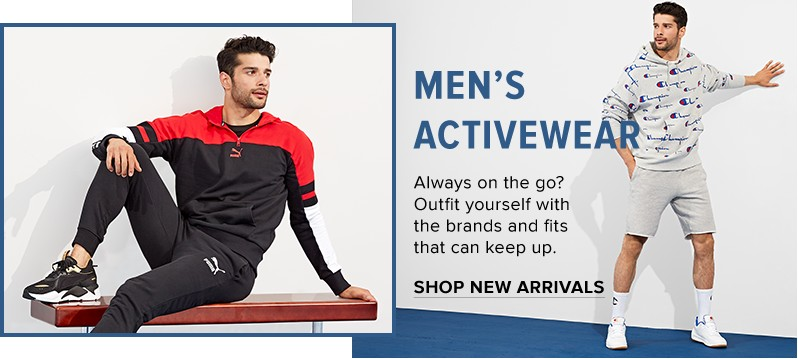 Men - Men's <b>Clothing</b> - Activewear - thebay.com