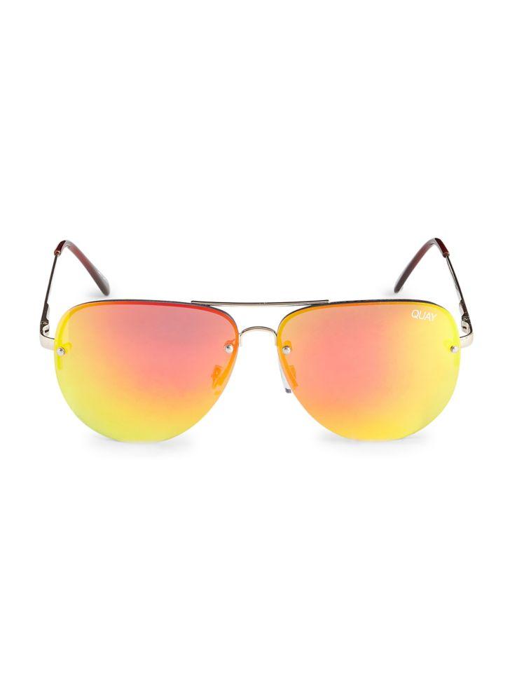 1adeb95b2ec Quay Australia - Muse 150mm Aviator Sunglasses - thebay.com