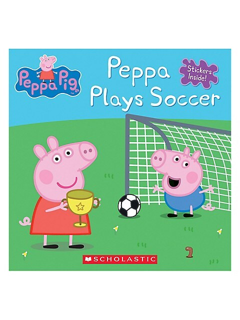 Scholastic Livre Peppa Pig Joue Au Soccer Version Anglaise Labaie Com