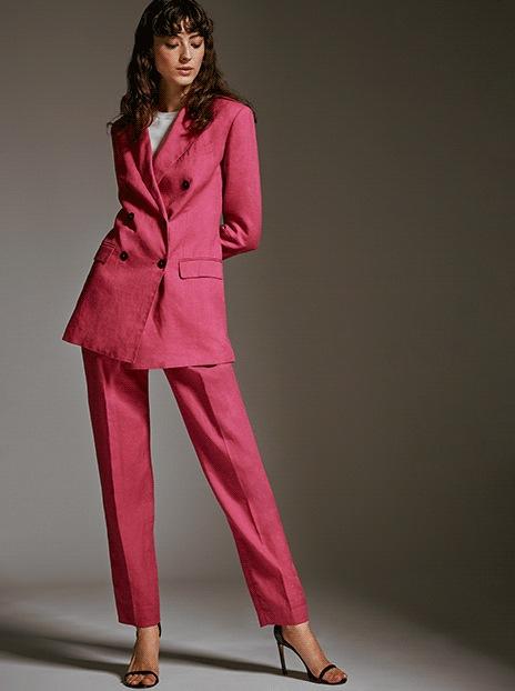 1b02d7b402f Theory hot pink blazer and pants at thebay.com
