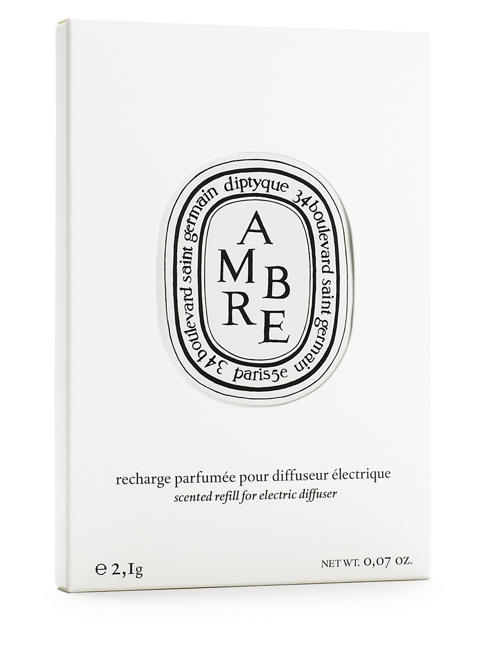 Diptyque Amber Electric Diffuser Refill