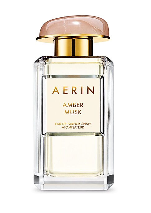 Image of Amber Musk blends sensual florals, distinctive amber and creamy musk. Ambrox makes a velvety first impression, contrasted by a succulent burst of Coconut Water and the femininity of Rose Centifolia Absolute. Like the glow of amber flames, lingering Benzoi