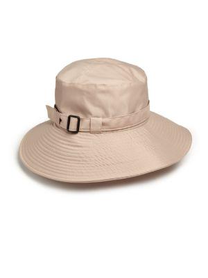 8cbd649f546 Eric Javits Kaya Rain Hat In Khaki