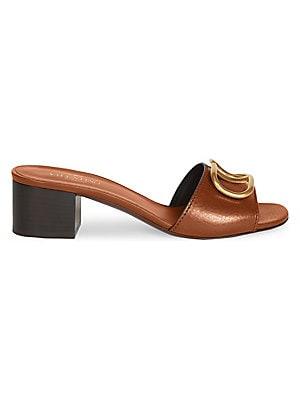 22d15f589521 Valentino Garavani - Rockstud Patent Leather Pumps - saks.com