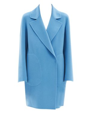 Boy Double Breasted Wool Coat by Theory