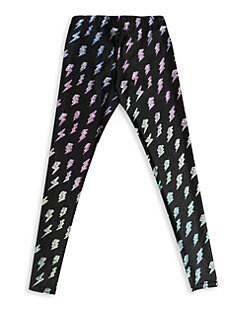 5fbb401bd8 QUICK VIEW. Terez. Little Girl's & Girl's Glitter Lightning Leggings