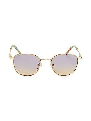 1beb35a75fb Colors in Optics - Colors in Optics Sammy 49MM Small Round Sunglasses