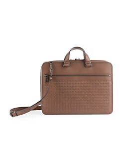 ffeda6edd506 Briefcases   Portfolios. Bottega Veneta - Intrecciato Leather Briefcase