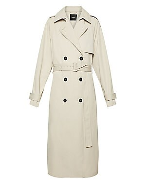 Staple Trench Coat by Theory