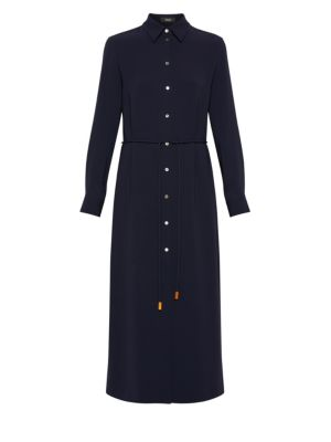 Belted Shirtdress by Theory