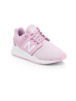 08499befef7 New Balance. Girl s 247 Crystal Knit Sneakers