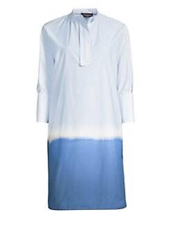 0928cd04220 Piazza Sempione. Tie-Dye Shirtdress