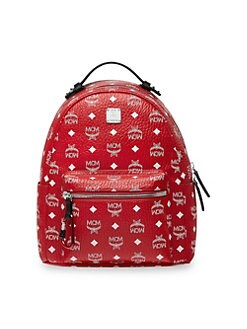 45466dff01 Stark Coated Canvas Backpack RED. QUICK VIEW. Product image
