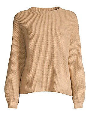 Roundneck Cashmere Sweater by Eileen Fisher
