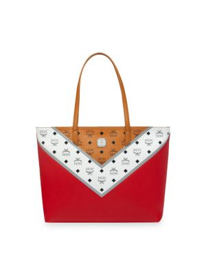 Move Medium Visetos Shopper by Mcm