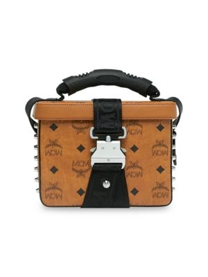 Mcm Small Jemison Visetos Crossbody Bag