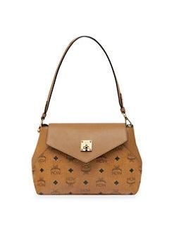 Quick View Mcm Essential Visetos Convertible Shoulder Bag
