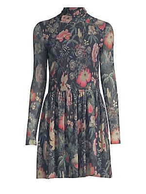 bb5c1ce435cfb La Vie Rebecca Taylor - Faded Floral Fit- -Flare Dress - saks.com