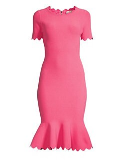 2406d2b943 QUICK VIEW. Milly. Scalloped Mermaid Bodycon Dress
