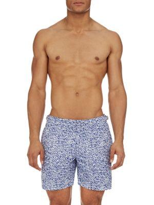 Coolred-Men Plus Size Classic-Fit Cowboy Premium Beach Swimsuit Shorts