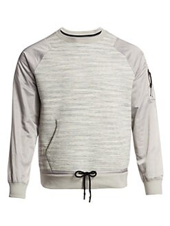 08edb5e6d8be QUICK VIEW. Madison Supply. Mixed Media Popover Crew Sweatshirt.  178.00.  only at saks