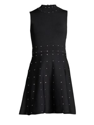 Parker Joy Studded Flare Dress