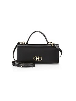 861151f2fa0 Product image. QUICK VIEW. Salvatore Ferragamo. The Gancini Leather Mini Bag