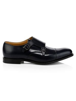 Church S Detroit Monk Strap Leather Shoes