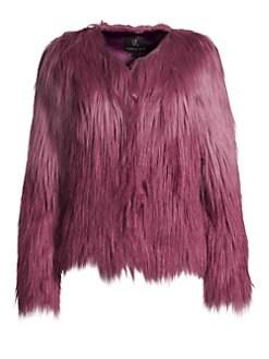 9f2c190ec5e QUICK VIEW. Unreal Fur. Ombré Faux Fur Jacket