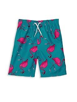 7d3d2ed156efb Appaman. Baby Boy's, Little Boy's & Boy's Flamingo Swim Trunks