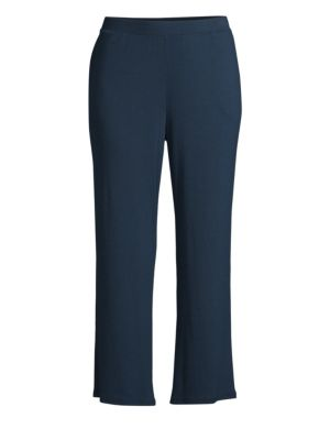 Skin Cottons Noelle Ribbed Flared Crop Pants