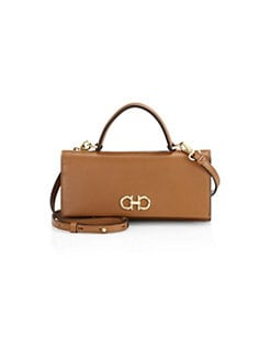 QUICK VIEW. Salvatore Ferragamo. The Gancini Leather Mini Bag d4a9cc29fe941