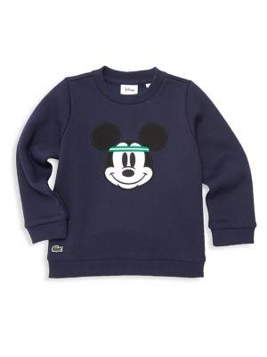 Boy's Lacoste X Disney Mickey Mouse Sweatshirt by Lacoste