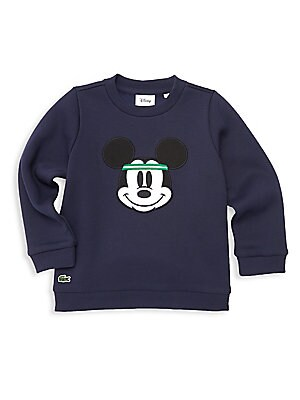 df004209eb60 Lacoste - Boy s Lacoste x Disney Mickey Mouse Sweatshirt - saks.com