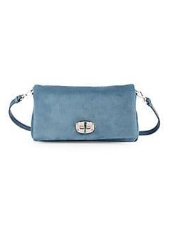 c74ab400562 QUICK VIEW. Miu Miu. Jewelled Suede Shoulder Bag
