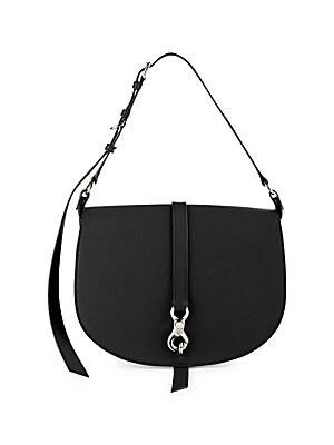 3eda043a5704 Miu Miu - Medium Leather Hunting Bag - saks.com