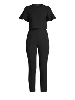 Syon Two-Piece Jumpsuit in Black