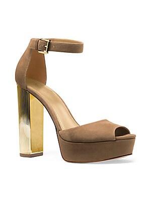2082f1546b3 MICHAEL Michael Kors - Paloma Suede Platform Dress Sandals