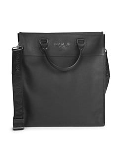 d612f5b8462 Balmain. Grained Leather Tote Bag