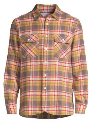 Ovadia & Sons T-shirts Ian Flannel Sport Shirt