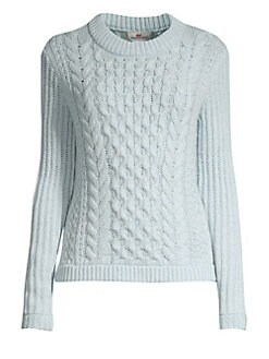 f5bb01dca51b33 Vineyard Vines. Fisherman Wool & Cashmere Cable Knit Sweater
